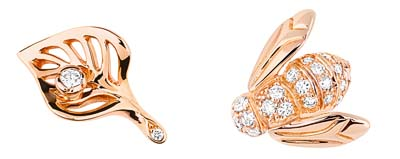 Rose Dior Pré Catelan Studs – Pink gold and diamonds – Ref.: JROC95038