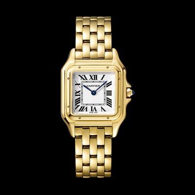 - <b>Panthère de Cartier watch</b> Medium Model Yellow Gold - Ref.: WGPN0009