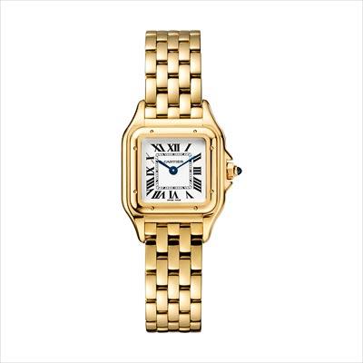 - <b>Panthère de Cartier watch</b> Small Model Yellow Gold - Ref.: WGPN0008
