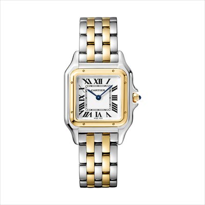 - <b>Panthère de Cartier watch</b> Medium Model Yellow Gold &Steel - Ref.: W2PN0007
