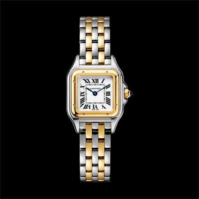 - <b>Panthère de Cartier watch</b> Small Model Yellow Gold &Steel - Ref.: W2PN0006