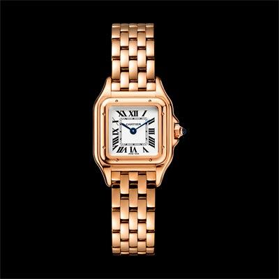 - <b>Panthère de Cartier watch</b> Small Model  Pink Gold - Ref.: WGPN0006