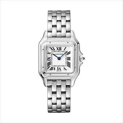 - <b>Panthère de Cartier watch</b> Medium Model, Steel - Ref.: WSPN0007
