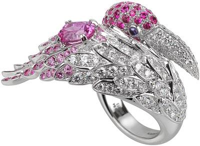 - Boucheron Flamingo ring