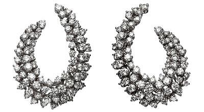 -  Boucheron Lilas earrings