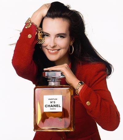 1989 - Carole Bouquet - CHANEL Première &CHANEL N°5