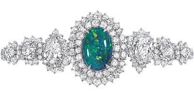 - Dior Fascinante Opal bracelet - 750/1000 white gold, diamonds and black opal - Ref.: JDDE93053