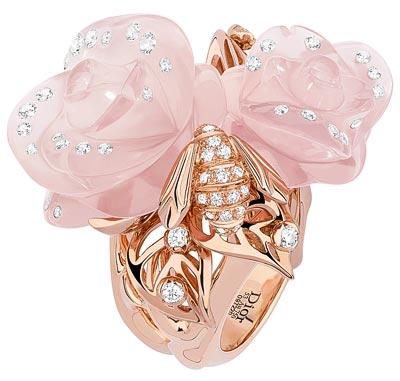 - Rose Dior Pré Catelan ring