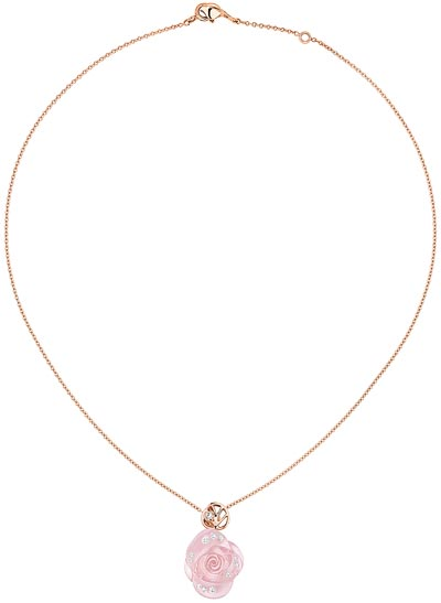- Rose Dior Pré Catelan necklace