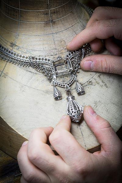 - Jewelry work, adjusting