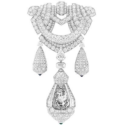 Detachable clip ofthe Pégase necklace