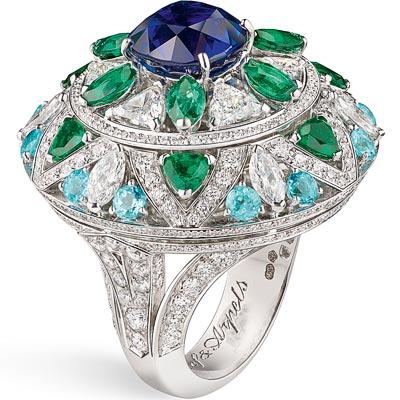 - Fleur Bleue ring