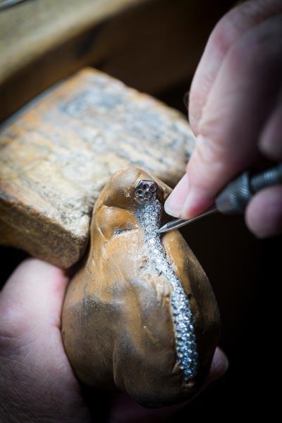 - Jewelry work, setting