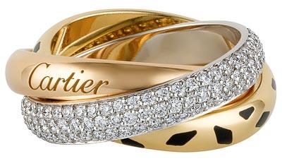 Cartier Trinity Twist - Bague Trinity