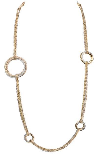 Cartier Original Trinity  - Trinity chain necklace