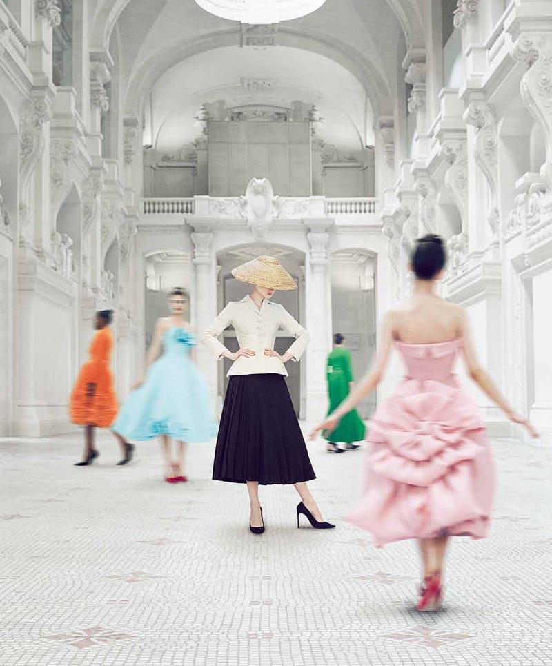"© Emma Summerton for ""Christian Dior Designer ofDreams"""
