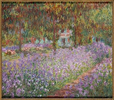 - Claude Monet, Le Jardin de l'artiste à Giverny, 1900, oil on canvas, Paris, Musée d'Orsay. <br>© RMN-Grand Palais / musée d'Orsay / Hervé Lewandowski.