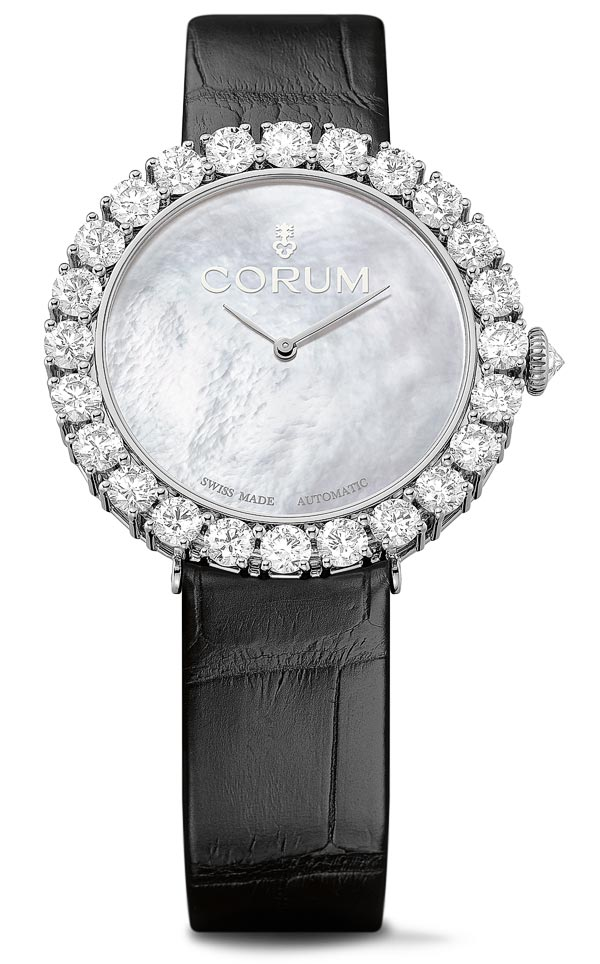 - Corum Heritage Sublissima white Gold