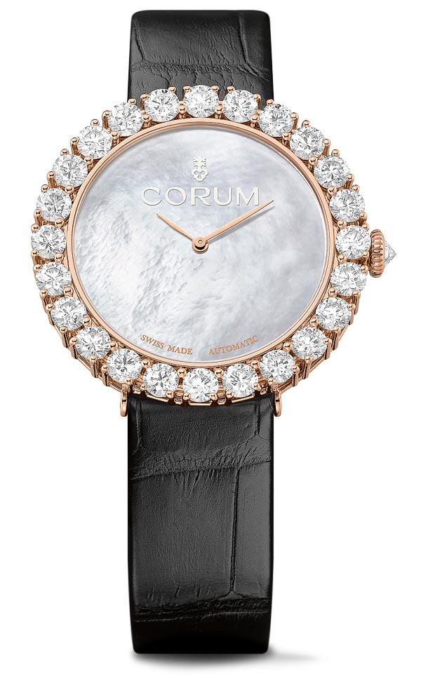 - Corum Heritage Sublissima rose Gold
