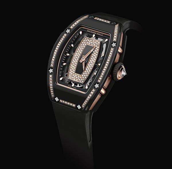 Richard Mille RM 07-01 inGem-set Black Ceramic