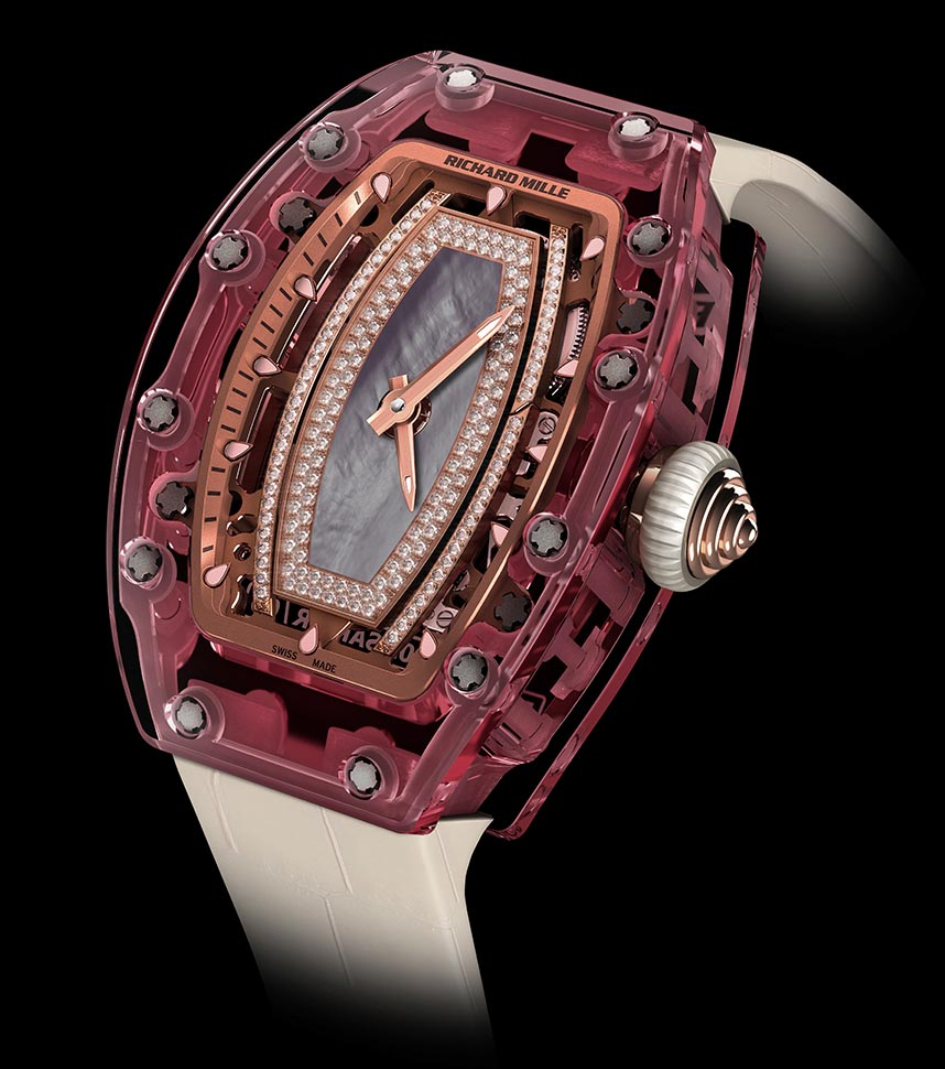 - Richard Mille RM 07-02 Automatic Pink Sapphire