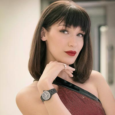 - TAG Heuer and Bella Hadid inaugurate a new flagship boutique on Oxford Street