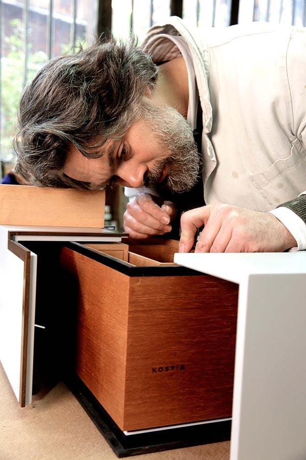 Constantin Laan, Master woodworker, Paris, France
