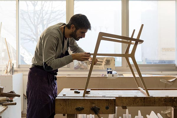 Ludovic Avenel, Master woodworker, Paris, France
