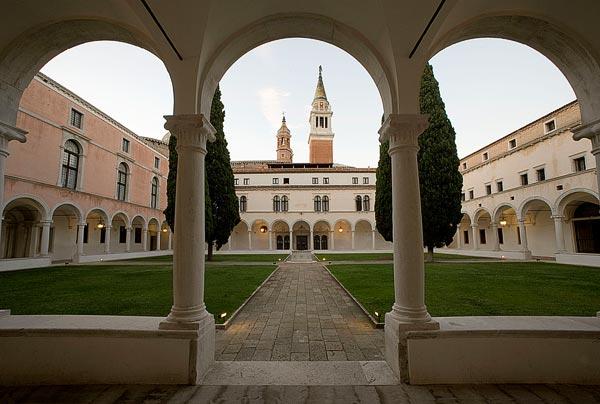 Dei Buora Cloister, Fondazione Giorgio Cini, Venise, Italie