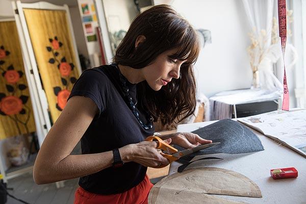 Sophie Beale, Master milliner, London, United Kingdom