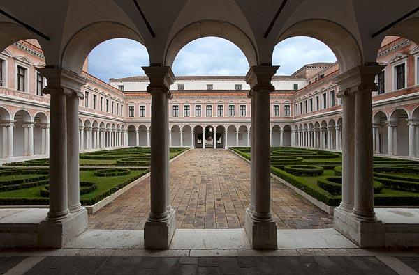 Palladiano Cloister, Fondazione Giorgio Cini, Venise, Italie