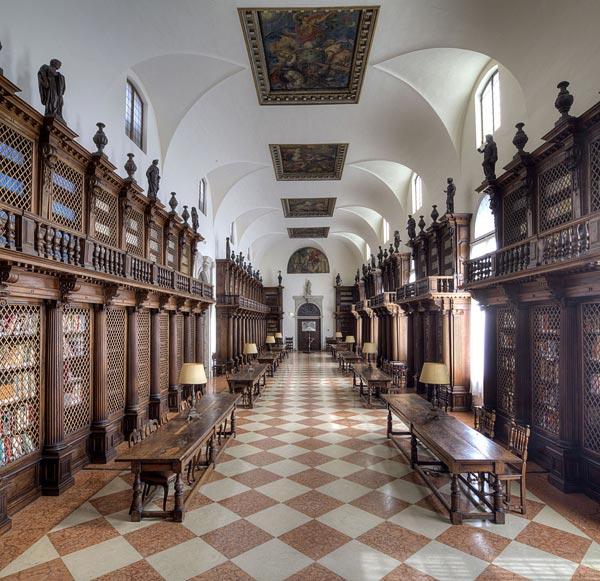 - Longhena Library, Fondazione Giorgio Cini, Venise, Italie