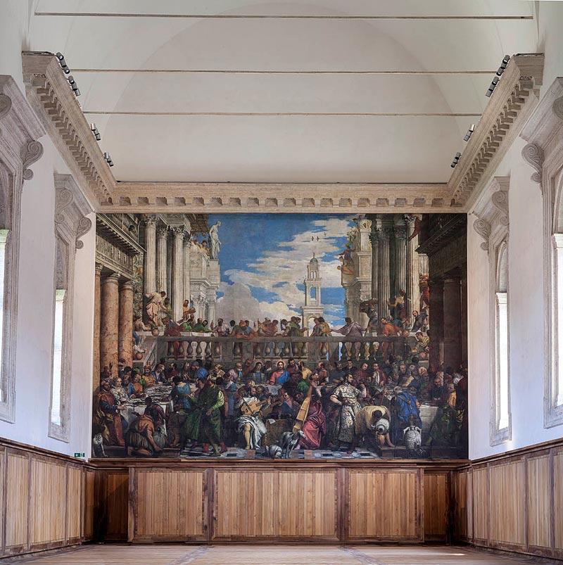 - Cenacolo Palladiano, Fondazione Giorgio Cini, Venise, Italie