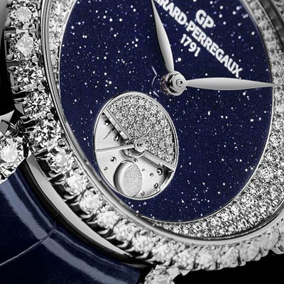 - Girard-Perregaux Cat's Eye Day and Night High Jewellery