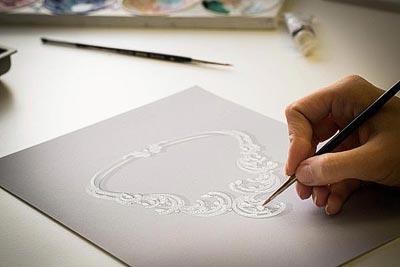 - Gouaché design