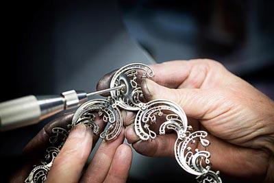 - Polishing work - brush polishing