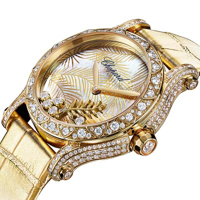- Chopard Happy Palm - the watch of the Cannes Film Festival