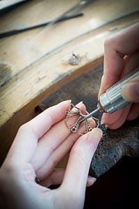 - Jewelry work - setting
