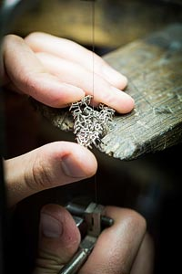 - Jewelry work - open work