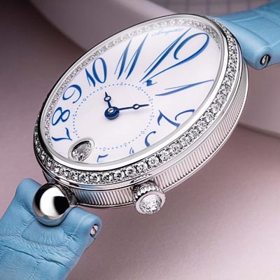 - Breguet Reine de Naples 8918  in Grand Feu Enamel