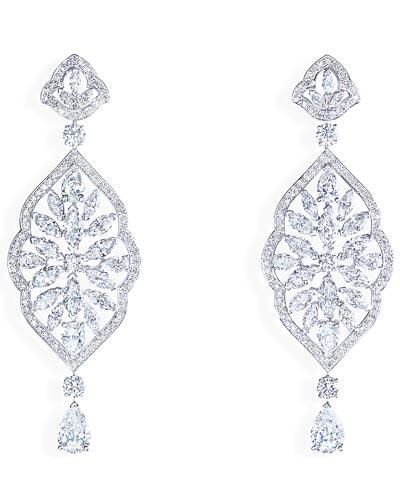 - Earrings inwhite gold &diamonds <b>G38M5300</b>