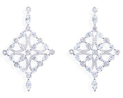 - Earrings inwhite gold &diamonds <b>G38M5100</b>
