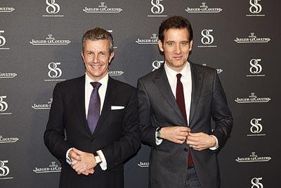 Daniel Riedo - Jaeger-LeCoultre CEO &Clive Owen