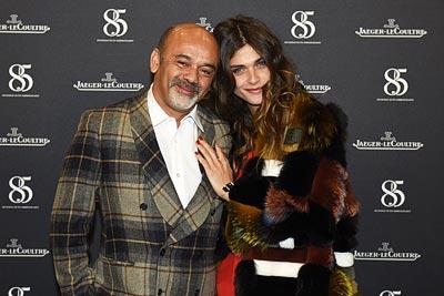 Christian Louboutin &Elisa Sednaou