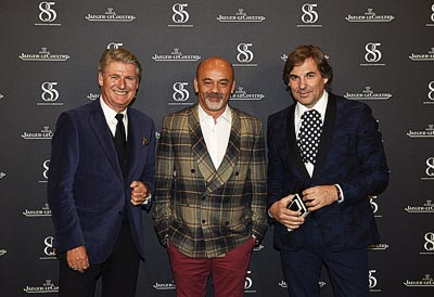 Janek Deleskiewicz, Christian Louboutin &Hubertus Hohenlohe