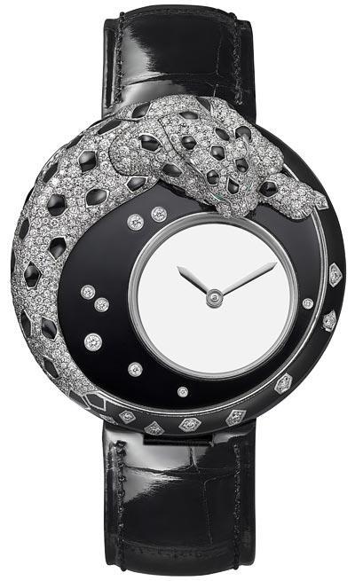 Cartier Panthère Mystérieuse watch