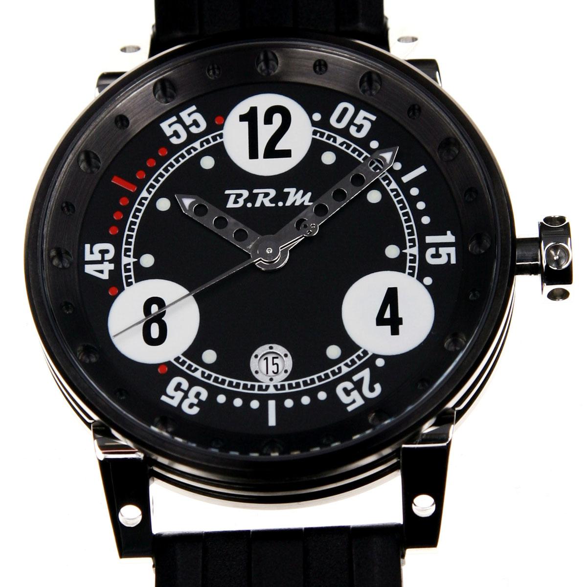 La Cote des Montres : Photo - BRM V6 et V12 Chronographe «Blackbox»