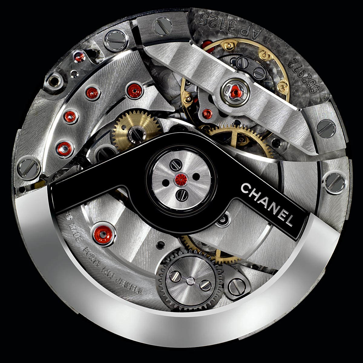 The Watch Quote: Photo - Chanel and Audemars Piguet create the J12 3125