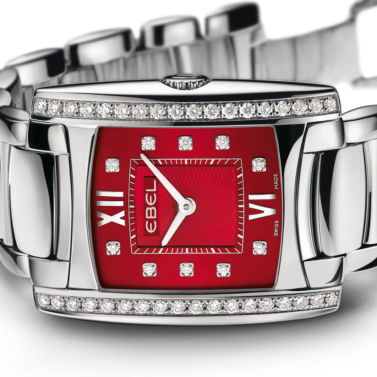 The Watch Quote: Photo - Ebel Brasilia Lady Red Dial