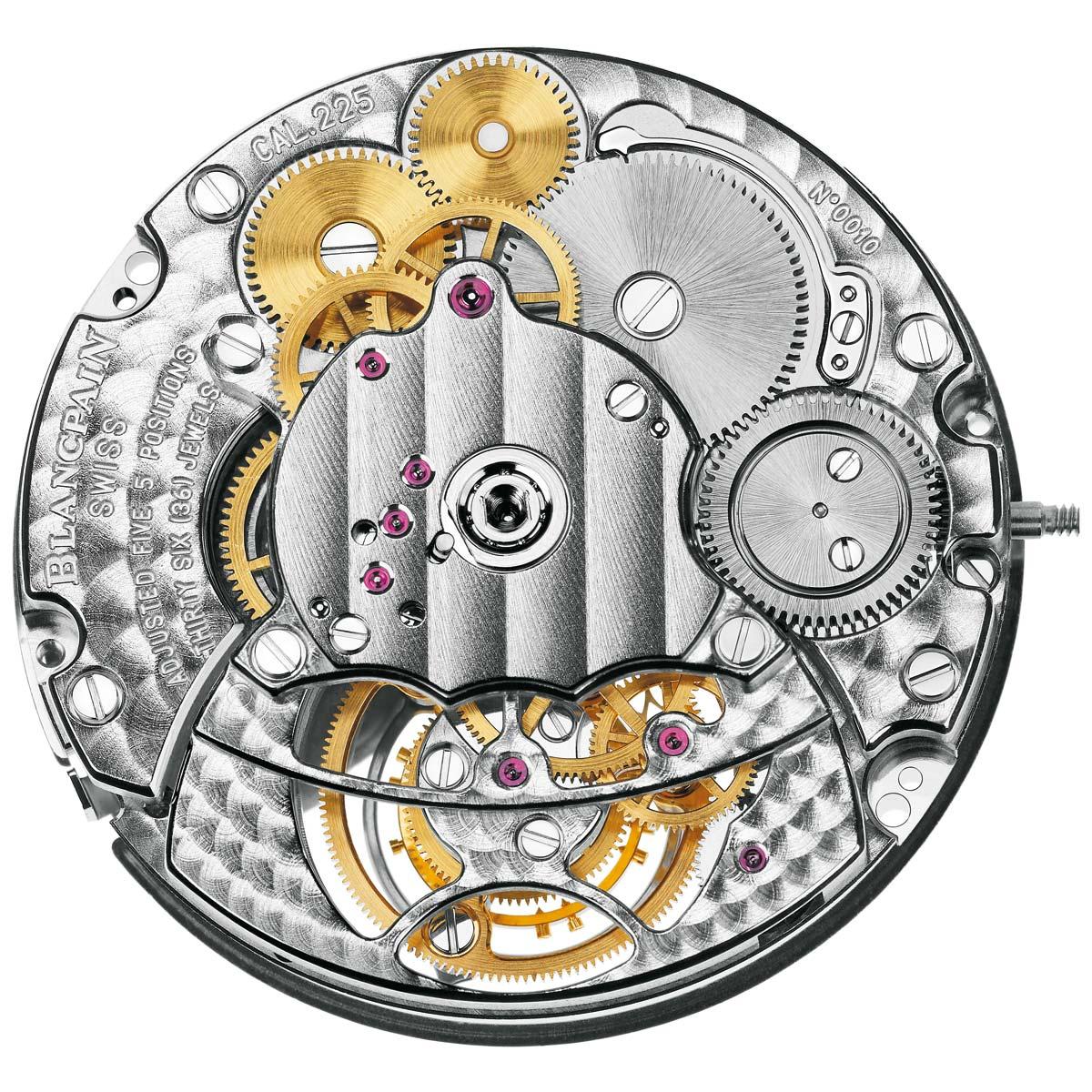 La Cote des Montres : Photo - Blancpain Carrousel Volant Une Minute